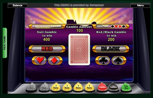 Buffalo Gamble Feature