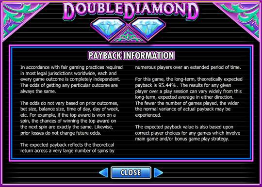 Double Diamond interface 3
