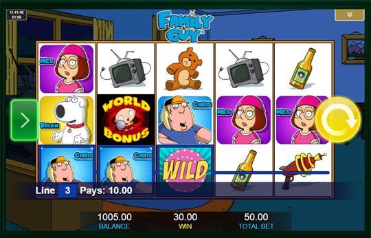 Family Guy wild