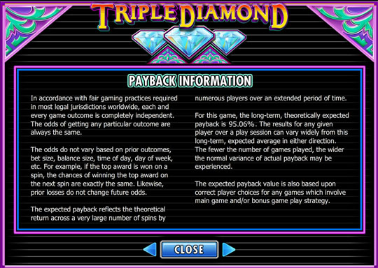 Triple Diamond info