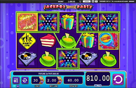 Jackpot Block Party wild